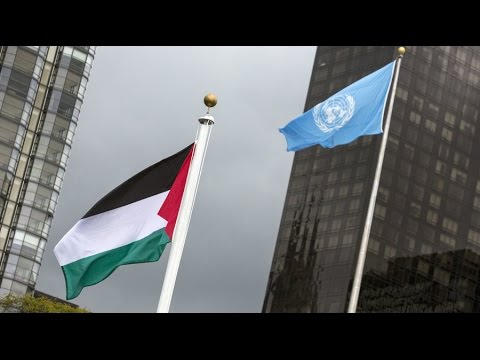 'Proud day': Palestine flag flies at UN HQ for 1st time