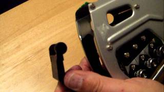 How to replace the ink roller in the Towa GH, GX or Speedy Mark 5 price gun