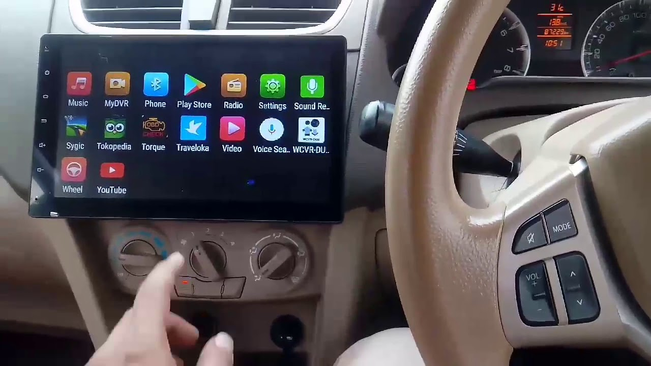 "Review Kanor Android Head Unit 10 1"" on Suzuki Ertiga"