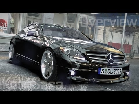 Mercedes-Benz CL65 SV12S Brabus 2012