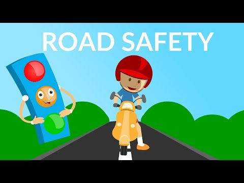 Road Safety video || Traffic Rules And Signs For Kids || Kids Educational Video