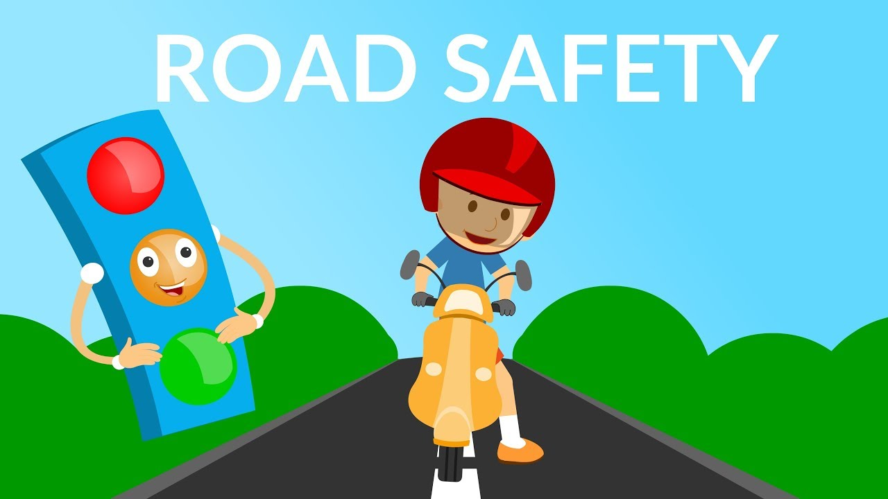 Road Safety Video Traffic Rules And Signs For Kids Kids Educational Video Youtube