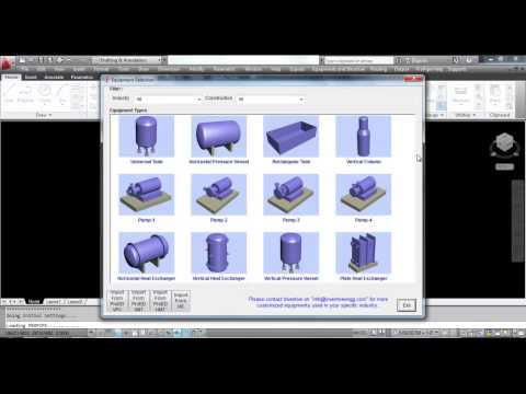 ProPipe by Inventive (AutoCAD based 3D Plant Design software)