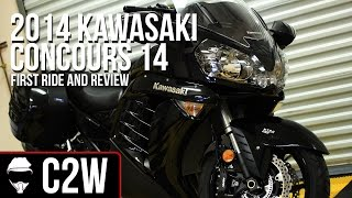 2014 Kawasaki Concours 14 - First Ride and Review