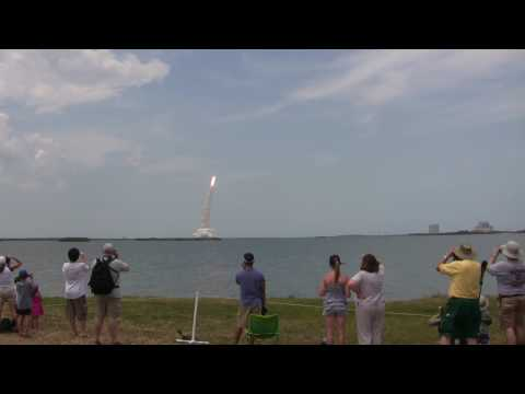 STS 125 Launch from the NASA Causeway