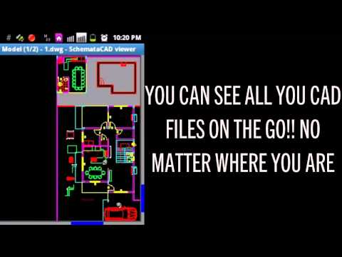 Autocad DWG CAD VIEWER For Android Smartphones
