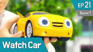 Power Battle Watch Car S1 EP21 Tommy's Old Watch car (English Ver)