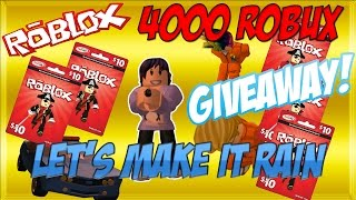ROBLOX GIFT CARD GIVEAWAY FREE ROBUX 2017 (CLOSED)