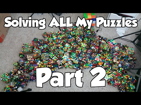 Solving ALL Of My Puzzles (Part 2)
