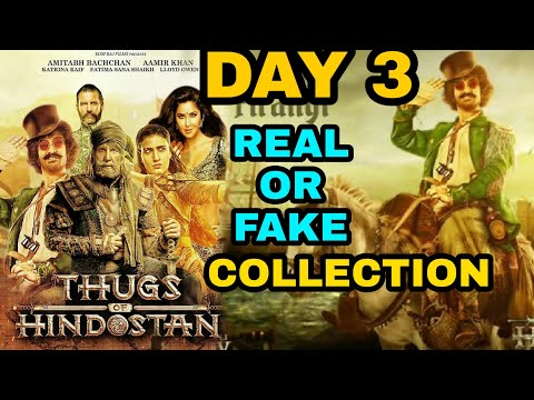 Thugs of Hindostan Boxoffice Collection Day 3 Real or Fake ?, THUGS OF HINDOSTAN, Aamir khan