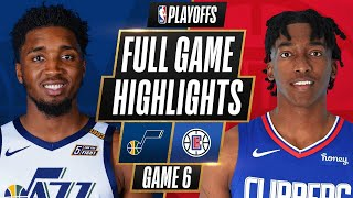 #1 JAZZ at #4 CLIPPERS | FULL GAME HIGHLIGHTS | June 18, 2021