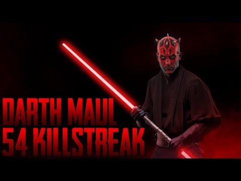 Star Wars Battlefront 2 - Darth Maul 54 Killstreak