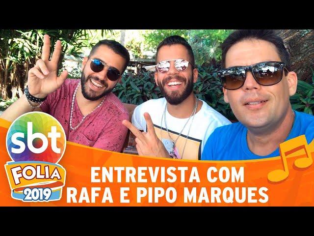 Rafa e Pipo Marques falam sobre preparação para aguentar o carnaval | SBT Folia 2019