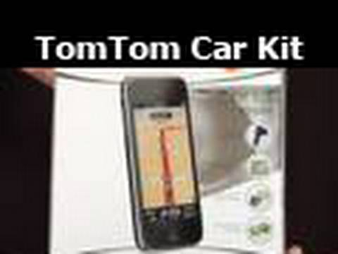 tomtom car kit for iphone 3g 3gs commentary first look. Black Bedroom Furniture Sets. Home Design Ideas