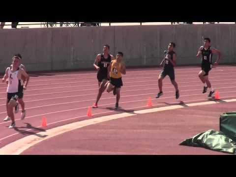 Rafer Johnson:  Boys 800m #1: 3/21/2015