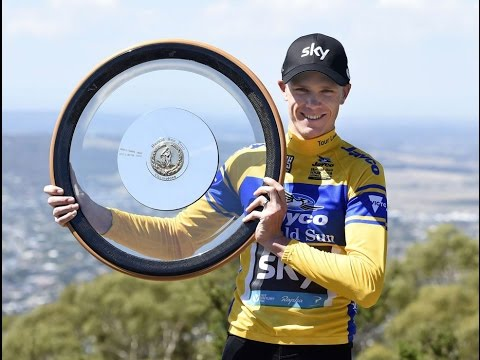 JAYCO HERALD SUN TOUR 2016 - FINAL STAGE (Chris Froome attacks and wins)