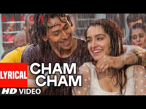 Cham Cham LYRICAL Video | BAAGHI | Tiger Shroff, Shraddha Kapoor | Meet Bros, Monali Thakur