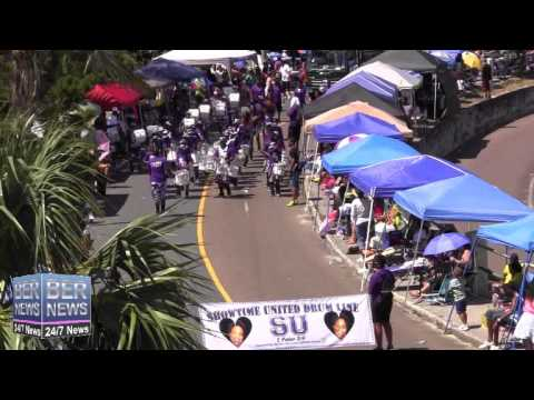 Show Time Drumline In The Bermuda Day Parade, May 26 2014