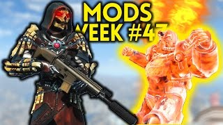 Fallout 4 TOP 5 MODS (PC & XBOX) Week #47 - BEST WEAPON YET, POWER ARMOR AIRDROP, FUSION CITY