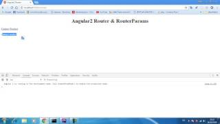 angular2 cli 07 router navigate redirect pages