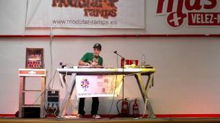 DJ KUERVO FREESTYLE BOQUERON JAM INDOOR 2011