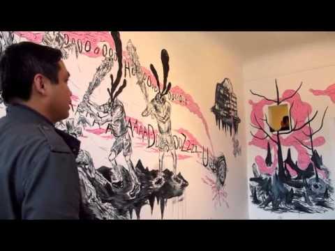Lazaro Juan At Random Parts Gallery, Oakland, CA