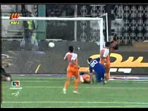Goals Esteghlal Vs Saipa استقلال تاج تهران سایپا البرز ايران Iran