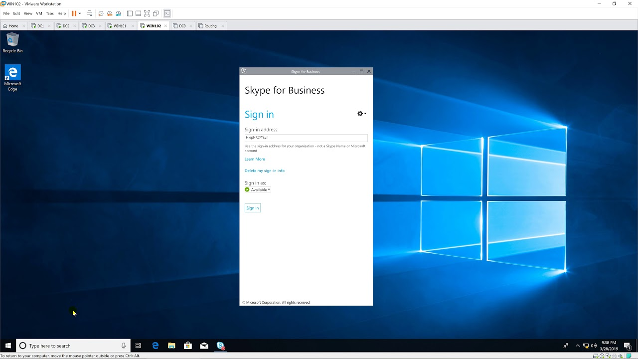 Install Certificate for Skype for Business client (for Workgroup)