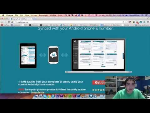 How To Send/receive SMS Messages From A PC Or Mac