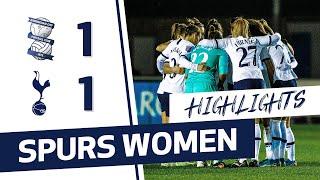 HIGHLIGHTS | BIRMINGHAM CITY 1-1 SPURS WOMEN | FAWSL