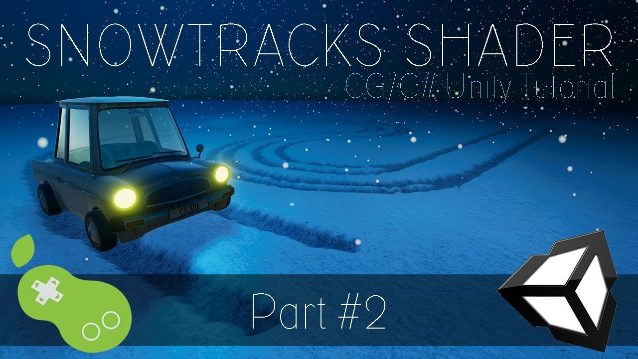 Tire tracks in the snow with Unity - Go Make Games, Tessellation shaders