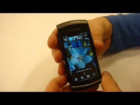 Sony Ericsson Vivaz PRO. Дизайн