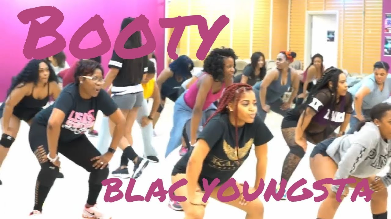"Blac Youngsta  ""Booty"" Choreography by Trinica Goods #1"