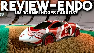 Rocket League: ENDO, O MELHOR CARRO?!! ROLOU WALL DRAG? QUE CARRO LINDO!