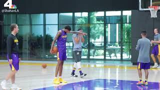 Lakers: 2017 Training Camp Video - Day 4: Brandon Ingram