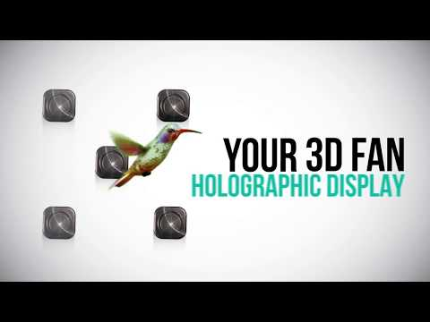 Mindblo: Hologram display (FAN 3D Animation)