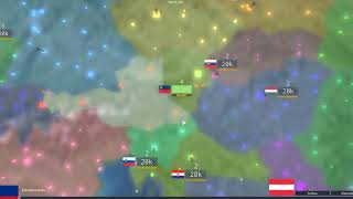 Liechtenstein Conquest of Europe Challenge in Rise of Nations- ROBLOX