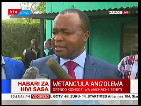 Kiminini MP Chris Wamalwa responds to Moses Wetangula's ouster as Minority Leader