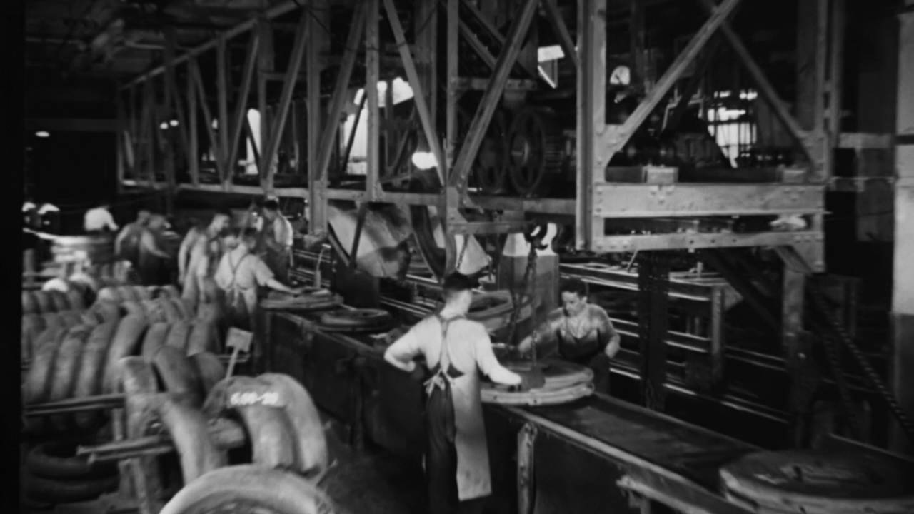 Continental Tire Production 1920 S Youtube