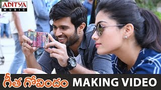 Geetha Govindam Movie Making || Vijay Devarakonda, Rashmika Mandanna