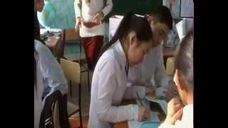 Открытый урок в Первомайской школе с. Беловодское