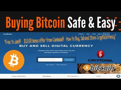 Coinbase - How to Buy, Sell and Store Bitcoin Cryptocurrency