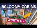 Top 10 tips for booking a balcony cabin