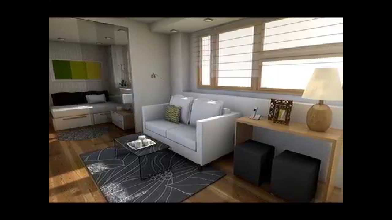 Dise o interior minipiso 23m2 funnydog tv for Casa moderna 6 00 m x 9 00 m 2 pisos interior
