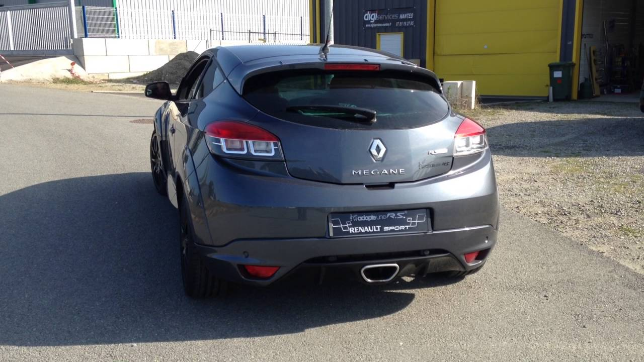 renault megane 3 rs custom inox exhaust pro inox nantes youtube. Black Bedroom Furniture Sets. Home Design Ideas
