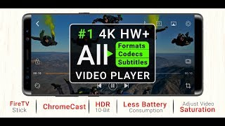 #1 4K Ultra HD VIDEO PLAYER 2019 | TOP VIDEO PLAYER FOR ANDRIOD | BEST HDR Media Player