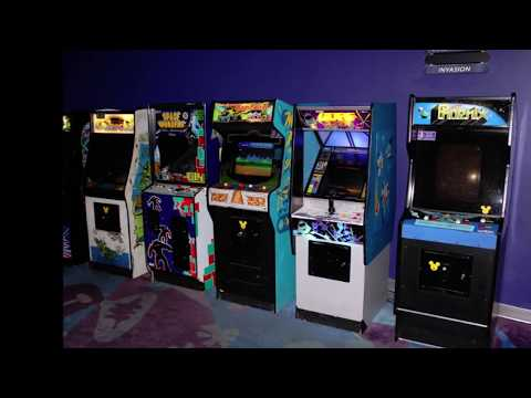 We Smuggled A 1979 Galaxian Arcade Game... Out of Disney World!