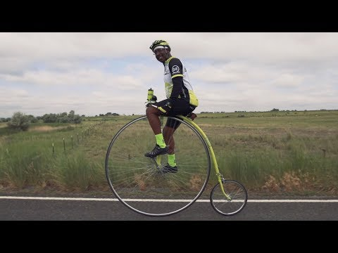 Everod talks about Bike MS and his Penny Farthing
