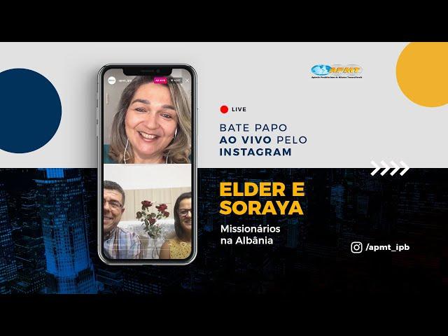 LIVE APMT com Elder e Soraya | Missionários na Albânia