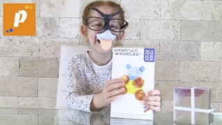 Распаковка construct a bubbles, необычные шарики, создаем разных животных Unboxing construct bubbles